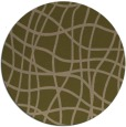 rug #219521 | round brown check rug