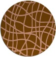 rug #219548   round check rug
