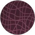 rug #219560 | round check rug