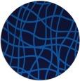 rug #219570 | round check rug