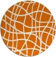 rug #219593 | round orange popular rug