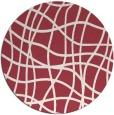 rug #219615 | round check rug
