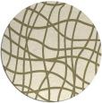 rug #219712   round check rug