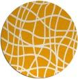 rug #219737 | round light-orange check rug
