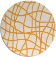 rug #219750 | round check rug