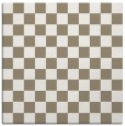 rug #220105 | square white check rug