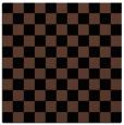 rug #220121 | square black check rug