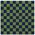 rug #220141 | square blue check rug