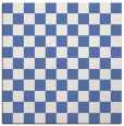 rug #220145 | square blue check rug