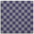 rug #220193   square blue-violet check rug