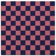 rug #220197 | square pink check rug
