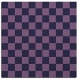 rug #220201 | square purple check rug