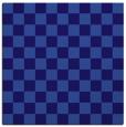 rug #220209 | square blue-violet retro rug