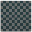 rug #220233   square green check rug