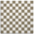 rug #220245 | square white check rug