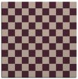 rug #220261 | square pink check rug