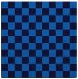 rug #220273 | square blue check rug