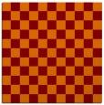 rug #220293 | square orange check rug