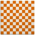 rug #220297 | square orange check rug