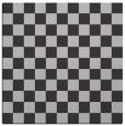 rug #220305 | square orange check rug