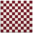 rug #220317 | square pink check rug
