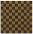 rug #220333 | square purple check rug