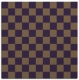rug #220337 | square mid-brown check rug