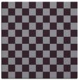 rug #220341 | square purple check rug