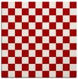 rug #220345 | square red check rug