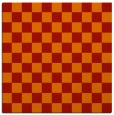rug #220349 | square red check rug