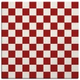 rug #220353 | square red check rug