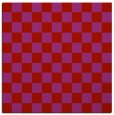 rug #220357 | square red check rug