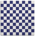 rug #220385 | square white check rug