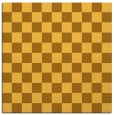 rug #220409 | square light-orange graphic rug