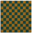 rug #220412   square check rug