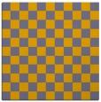 rug #220420 | square check rug
