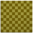 rug #220425 | square light-green check rug