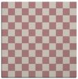 rug #220445 | square pink check rug