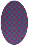rug #220521 | oval graphic rug