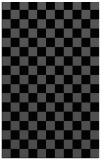 rug #220817 |  black check rug