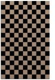 rug #220821 |  beige check rug