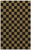 rug #220829 |  mid-brown check rug