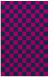rug #220837 |  pink check rug