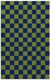 rug #220845 |  green graphic rug