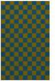 rug #220869 |  blue-green retro rug