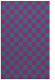 rug #220873 |  pink check rug
