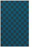 rug #220889 |  blue check rug