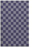 rug #220897    blue-violet check rug