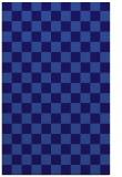 rug #220913    blue-violet check rug