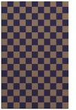 rug #220917 |  beige check rug